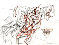 Image result for daniel libeskind drawing
