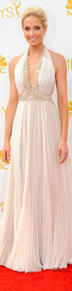 2014 Emmys ♔ Joanne Froggatt in J.Mendel