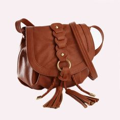 Over the shoulder purses are so cool!! and handy :D