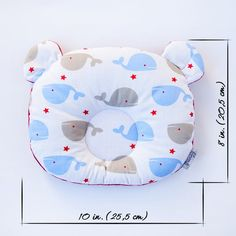 Items similar to Baby head pillow Infant flat head pillow Whale Baby Shower gift Pram head support pillow Personalized Baby neutral gift Car seat cushion on Etsy – baby pillow Baby Pillows, Kids Pillows, Baby Sewing Projects, Support Pillows, Baby Head, Baby Safe, Baby Prints, Baby Shower Gifts, Flat Head