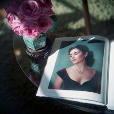 Aline Smithson  Liz with Roses, Los Angeles, 2012