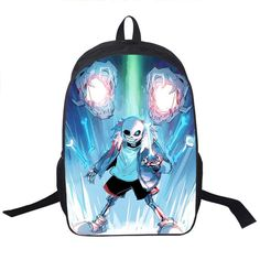 ffd5d204b5c4 Undertale Several styles to choose from Backpack School Harajuku style Boys  Girls Bag Variety Color Print