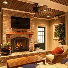 Fireplace Mantle Design Ideas, Pictures, Remodel, and Decor - page 4