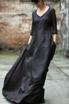 Sukienka jedwabna czarna