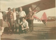 PA-20 - abaixado Nilson, em pé atrás, Agenor Pedro e Valter