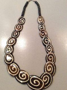 1 Halskette aus Indien Schmuck Kette Hippie Goa Bollywood Neu Hippieschmuck Nr.8