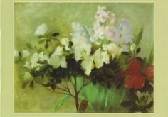 Azalea and Hyacinths - Helene Schjerfbeck - The Athenaeum