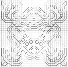 Blackwork Cross Stitch, Blackwork Embroidery, Hand Embroidery Patterns, Cross Stitch Quotes, Cross Stitch Kits, Cross Stitch Patterns, Cross Stitches, Graph Paper Drawings, Graph Paper Art