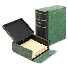 TOPS Eclipse File Box GLW22SLGRE, Green (UPC:078973002260)