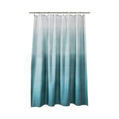 Threshold™ Ombre Shower Curtain - Blue-for Logan's bathroom?