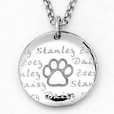 Pet lovers necklace