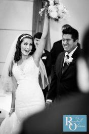 Bride and Groom, Colorado wedding photography, Black and White Wedding, Happy newlyweds, Bella Sera Event Center, Randall Olsson Photography,