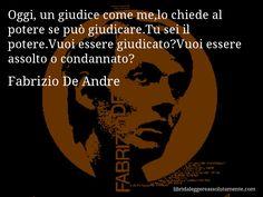 Cartolina con aforisma di Fabrizio De Andre (82)