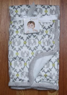 bff22cac9a1f Blankets Beyond Grey Blue Bird Birdie Nature Baby Boy Girl Security Blanket  for sale online