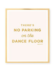 No Parking Print by prettychicsf