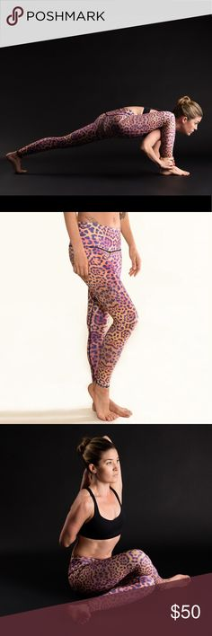 a98cb002a5fd09 Teeki Purple Awakening Hot Pants Silky soft yoga pants that fit like a  second skin.