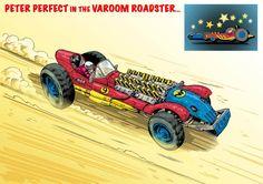Wacky Races Fury Road style by Mark Sexton - Album on Imgur