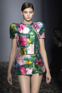 Futuristic Dress.  -Hapi Art and Pattern via Krista Marie Kelly