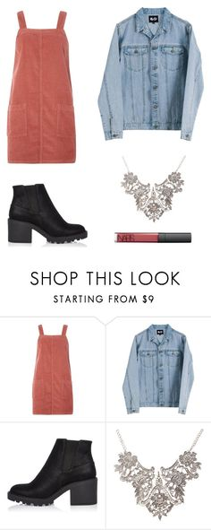 """jean jacket is fashion"" by nevesmariana12 ❤ liked on Polyvore featuring Dorothy Perkins, Cheap Monday and River Island"