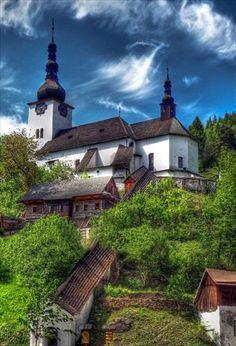Spania dolina Slovakia Bratislava Slovakia, Heart Of Europe, Places In Europe, Next Holiday, Holiday Travel, Travel Inspiration, Cathedral, Beautiful Places, Homeland