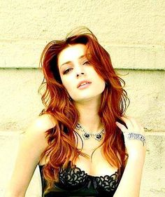 Remarkable, rather elena satine red hair