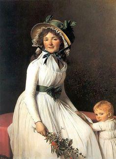 Strohhut David, Mme Seriziat, 1795