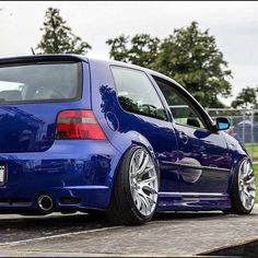 #Volkswagen #Golf #MK4 #Slammed #Modified #Fitment