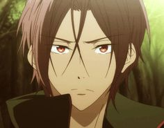 """Free! ES ~~ Beneath the trees in the lamplight with Sosuke, Rin gives his """"tch!"""" extra attitude."""