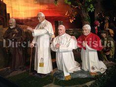 servidores de Dios: papal trifecta!