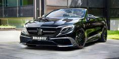 Mercedes Brabus 850 6.0 biturbo. Le préparateur allemand présente sa version du cabriolet quatre places dévoilé à Genève plus tôt cette année et revendique un titre séduisant.