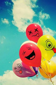 emoticon ballons