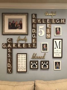 24 wunderbare Scrabble Wall DIY Home Decor Ideen – Diydekorationhomes.club 24 wunderbare Scrabble Wall DIY Home Decor Ideen Scrabble Wand, Scrabble Wall Art, Scrabble Tile Wall Art, Scrabble Family Names, Family Pictures On Wall, Family Picture Walls, Wall Decor With Pictures, Living Room Picture Ideas, Room Pictures