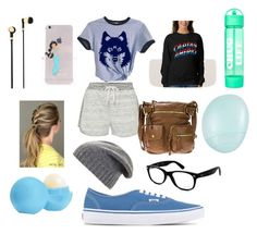 """""""Untitled #47"""" by gilda-golden on Polyvore featuring Calvin Klein, Ray-Ban, BCBGMAXAZRIA, Disney, Eos, Topshop, Master & Dynamic and Vans"""