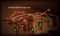 Branch Chandelier DIY | Tree-branches-chandelier-diy