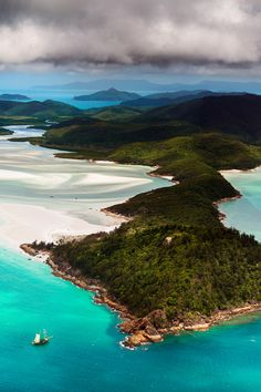 Hill Inlet, Whitsunday Island, Queensland, Australia
