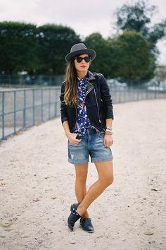 outfit inspo: boyish shorts
