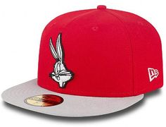 Character Basic Bugs Bunny 59Fifty Fitted Cap by NEW ERA x WARNER BROTHERS
