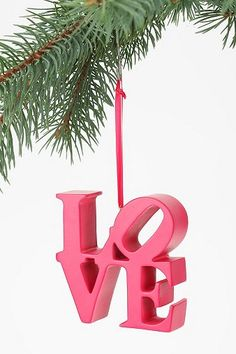 Love Block Ornament