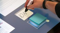 Projected Touchscreen Tables : Dynamic Desktop