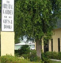 The Crystal Garden is a book store, gift store, and spiritual premier center in Palm Beach County. We have four showrooms filled with sparkling gemstones and crystals, aromatherapy, New Age books, candles, wind chimes, angels, chakra banners, Meditation CDs and Affirmation CDs. Enjoy a free cup of tea while you shop and have your purchases gift-wrapped for FREE!