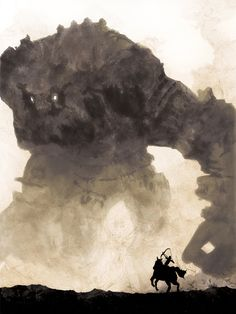 Shadow of the Colossus 18 x 24 Video Game Poster by kitschaus, $25.00