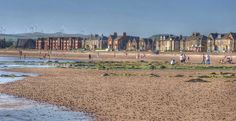 A day at the beach in Saltcoats