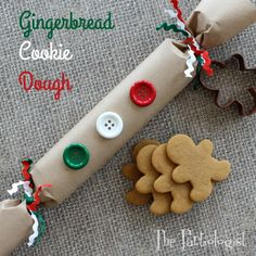 The Partiologist: Gingerbread Cookie Dough Gift!