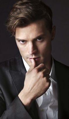 Fifty Shades Of Grey Promotional picture! He is so delicious!