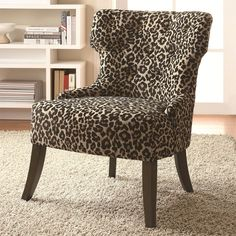 Ivan Smith Furniture   Occasional Chairs   Animal Print Arm Chair ❤ Liked  On Polyvore   Polyvore Rooms   Pinterest   Occasional Chairs, Arms And  Haciendas