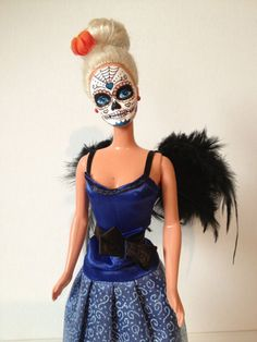 Sugar skull Barbie's??