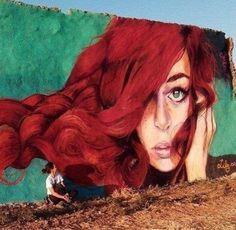 Lily Brik Dellet Murals Street Art, 3d Street Art, Street Art Graffiti, Mural Art, Street Artists, Best Graffiti, Urban Graffiti, Banksy, Street Art Photography