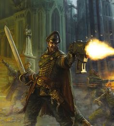 Warhammer 40k Commissar - Google Search