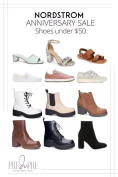 Great finds at the Nordstrom Anniversary Sale. I've rounded up my top picks in shoes under $50. Hot Summer Outfits, Fall Booties, Fall Lookbook, Warm Weather Outfits, Nordstrom Anniversary Sale, Weekend Wear, Sneaker Boots, Shoe Sale, Slide Sandals