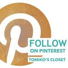Follow vintage boards on #pinterest! #graphicdesign #tomikoscloset #follow #follow #follow